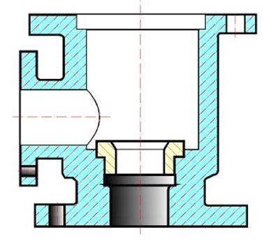 4.Произвести компоновку изображений, для этого вычислить габаритные размеры изделия и вычертить прямоугольники со...